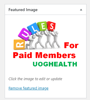 Feauted Paid Members