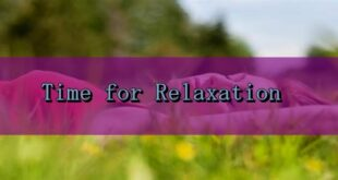 Tips To Relax Yourself