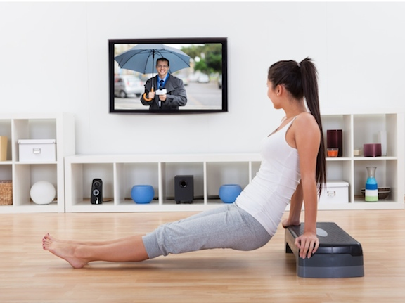 Fitness Simple exercises - exercises while watching tv