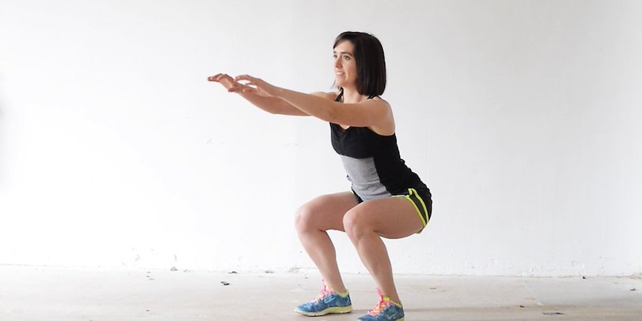 Squats home workout no equipment needed