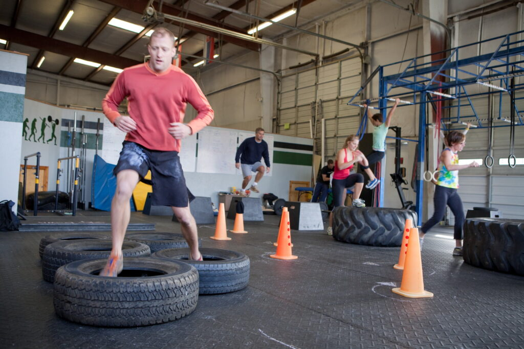 Obstacle workout